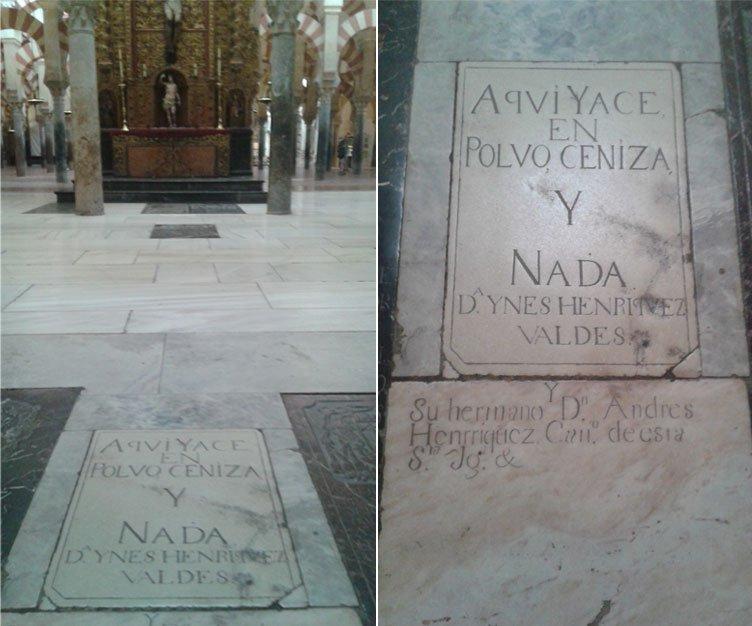 Respuestas de Gonzalo Herreros a Tumba Doña Inés