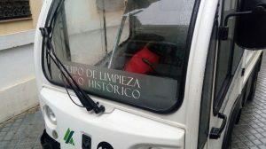 Vehículo de Limpieza del Casco Histórico de Córdoba