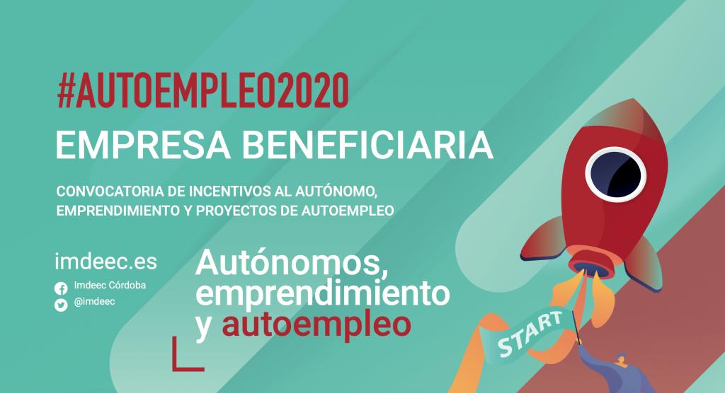 Empresa beneficiaria Autoempleo2020