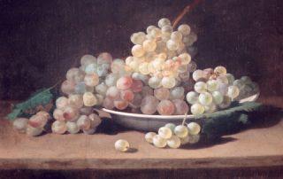 Cuadro de las uvas de de Rafael Romero Barros